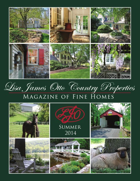 Lisa James Otto Country Properties Magazine of Fine Homes Summer 2014