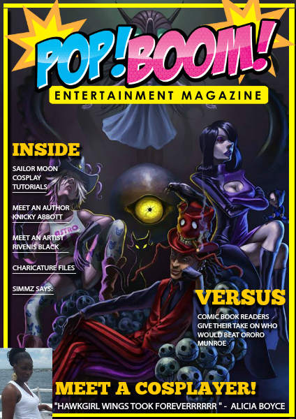 Pop Boom Entertainment Magazine Pop Boom Entertainment Issue 2 August 2014