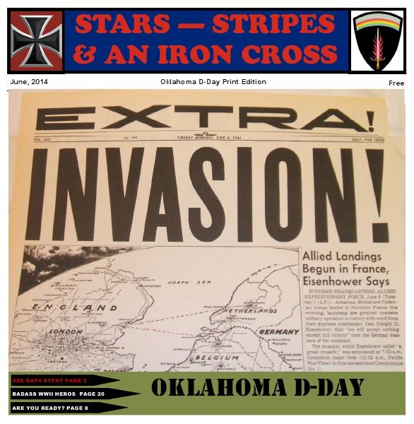June 2014 Oklahoma D-Day Newspaper Jun. 2014