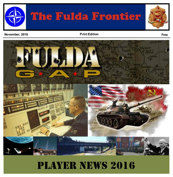 Fulda Gap 2016 Fuldat Gap 2016 Player News