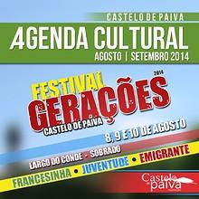 Agenda Cultural Agosto Setembro 2014