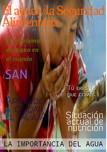 El agua y la seguridad alimentaria Olga Alvarez