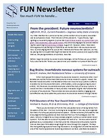 Faculty for Undergraduate Neuroscience Newsletter
