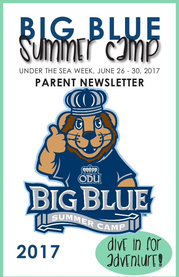 Big Blue Summer Camp Under the Sea Recap