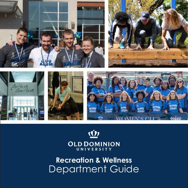 Recreation & Wellness Department Guide Department Guide