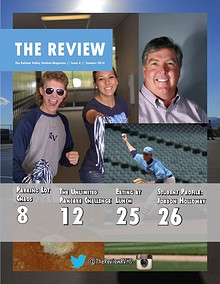 The Review Student Magazine-RVHS Spring/ Summer 2014