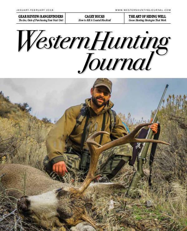 Western Hunting Journal, Sneak Peak WHJ_Short