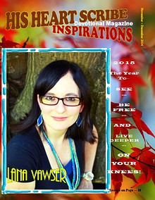 His Heart Scribe Inspirations Devotional Magazine November-December