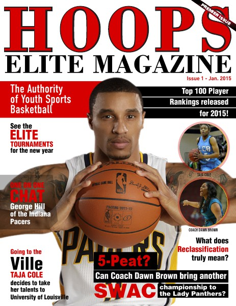 Hoops Elite Magazine - Premier Issue