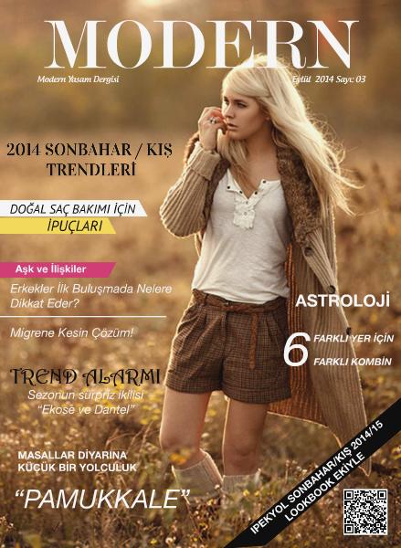 Modern Dergi Eylül 2014