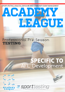 AFL Sports Testing