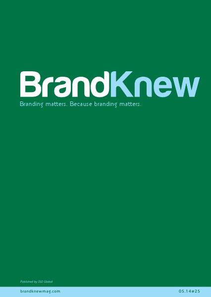 BrandKnew September 2013 May 2014