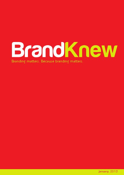 BrandKnew September 2013 January 2013