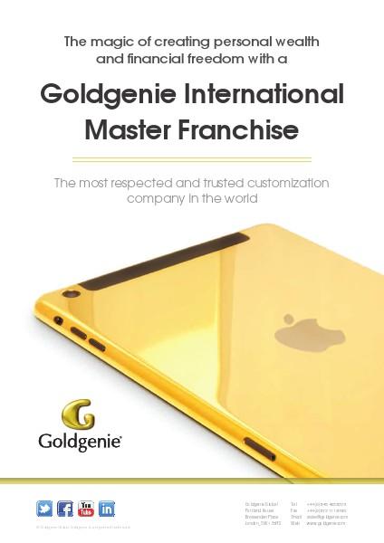 Goldgenie Master Franchise Brochure June 16th 2014