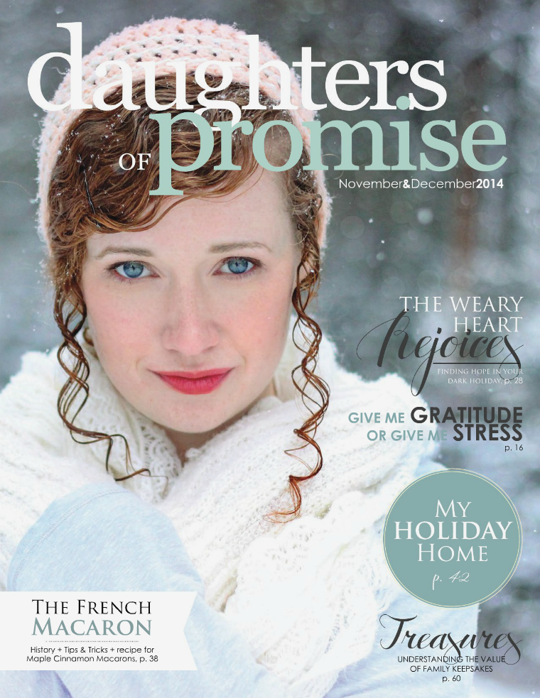 Daughters of Promise November/December 2014