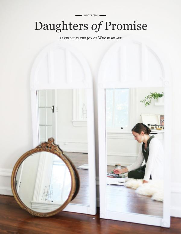 Daughters of Promise Winter 2016