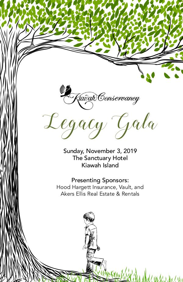 Event Programs and Photo Albums Legacy Gala 2019