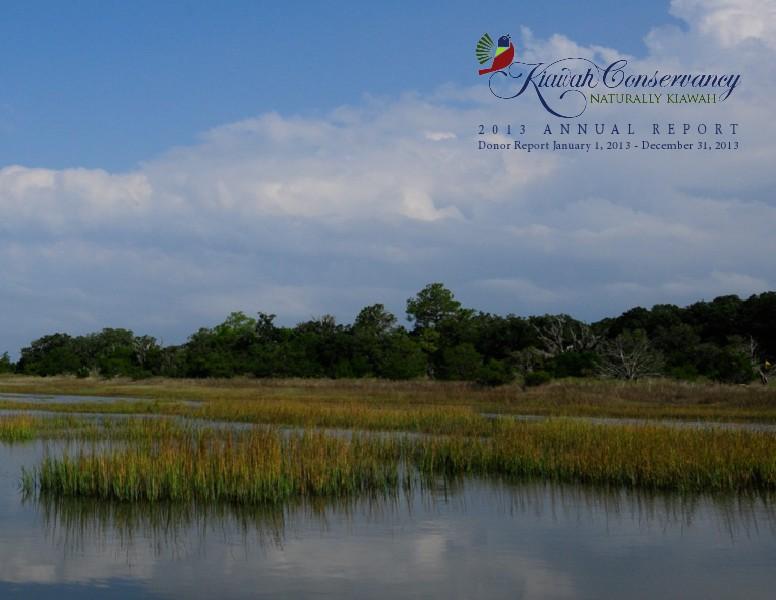 Kiawah Conservancy Annual Report 2013