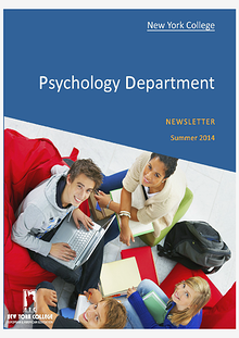 Psychology Newsletter Jun. 2014 Volume 1