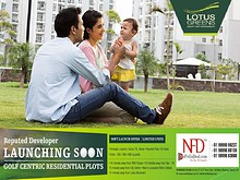 New Residential Lotus Greens Plots Noida @ 9999999237