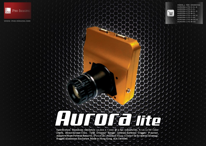 Ultra HD Camera   Aurora lite 70MP@3fps with real-time accessibility   Pho Imaging Ultra HD Camera   Aurora lite   Jun. 2014