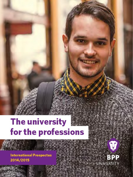 BPP University - International Prospectus 1