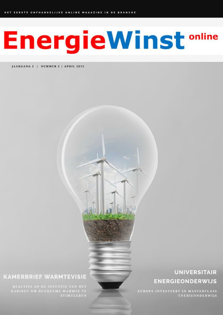 EnergieWinst online Uitgave 6, april 2015