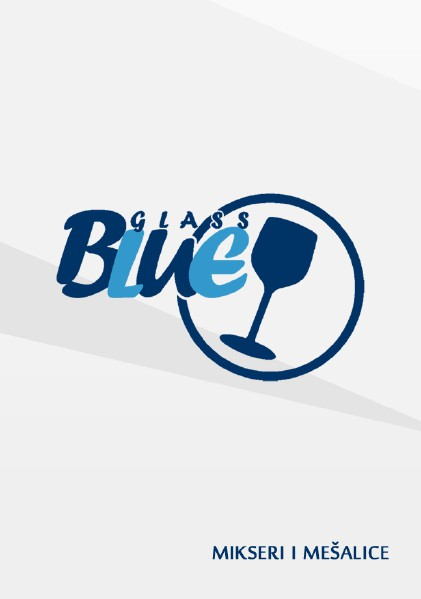 BlueGlass Mikseri i mesalice