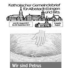 Gemeindeblatt August 2017