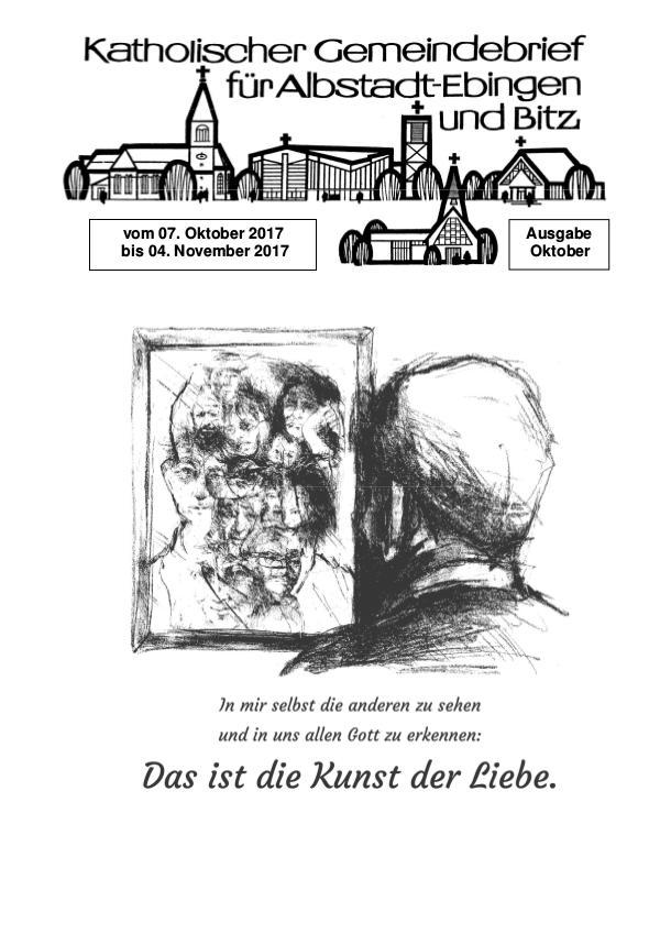 Gemeindeblatt Oktober 2017 Gemeindeblatt Oktober 2017