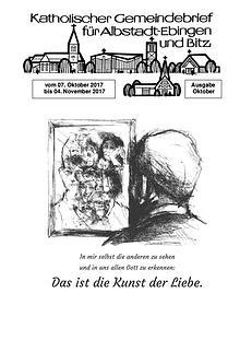 Gemeindeblatt Oktober 2017