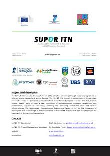 SUP&R ITN outreach magazine