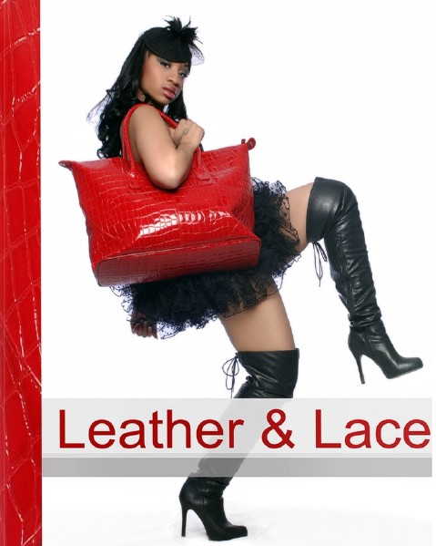Designer Art Book Leather And Lace