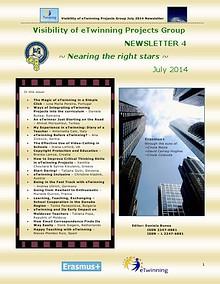 eTwinning Visibility Newsletter no. 4