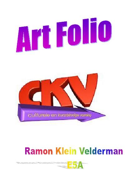 Art Folio CKV Jun. 2014