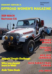Vermont Jeepgirl's Offroad Women's Magazine