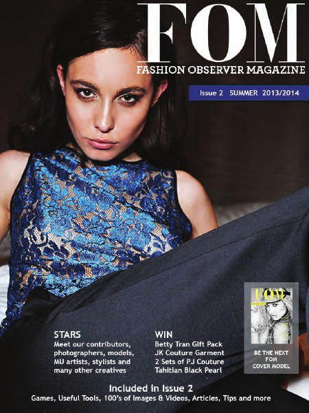 Fashion Observer Magazine Feb. 2014