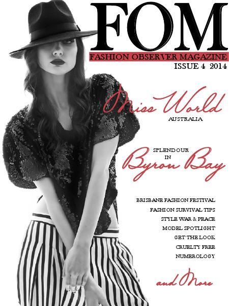 Fashion Observer Magazine Sept. 2014