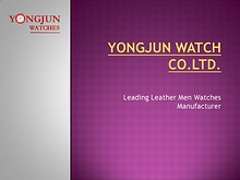Yongjun Watch Co.Ltd. - Jun. 2014