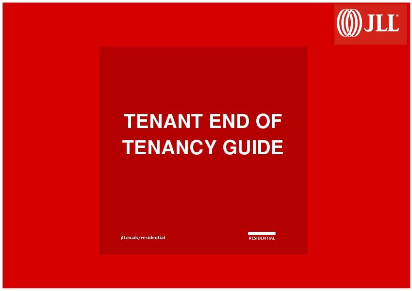 Tenant Guide June 2014
