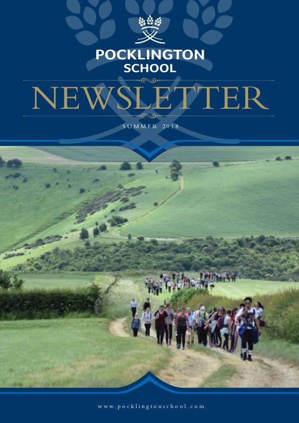 Pocklington School Newsletter Summer Term 2018