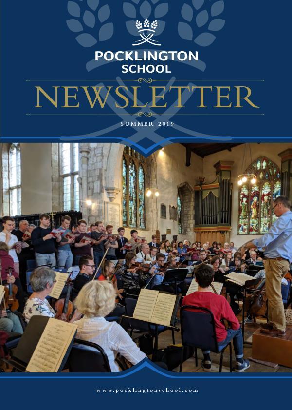 Pocklington School Newsletter Summer Term 2019