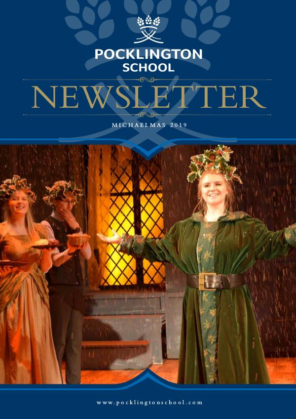 Pocklington School Newsletter Michaelmas Term 2019
