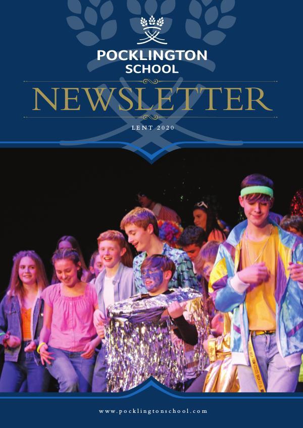 Pocklington School Newsletter Lent Term 2020