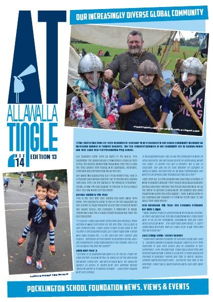 Pocklington School - Allawalla Tingle November 2014