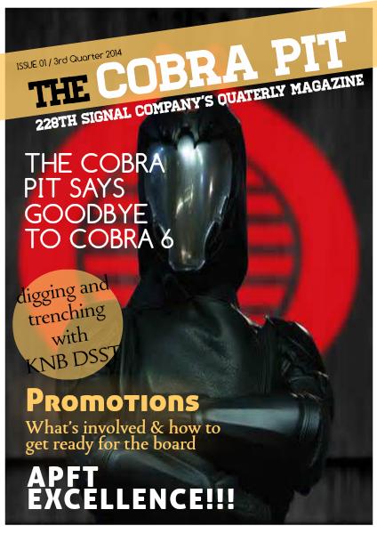 The Cobra Pit 3rd Quarter 2014