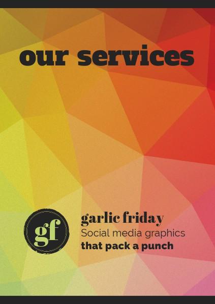 Garlic Friday Menu of Services Jun. 2014