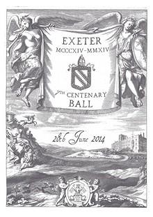 Ball Programme Booklet