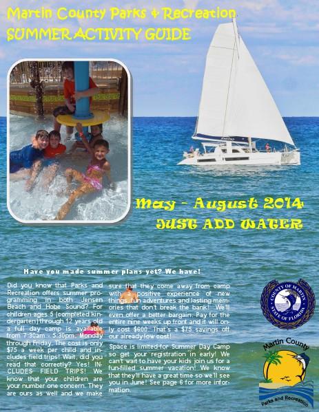 Activity Guide Summer 2014
