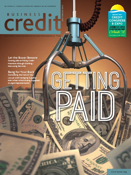 Business Credit Magazine July/August 2014